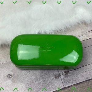Kate Spade green sunglass/ eyeglass case